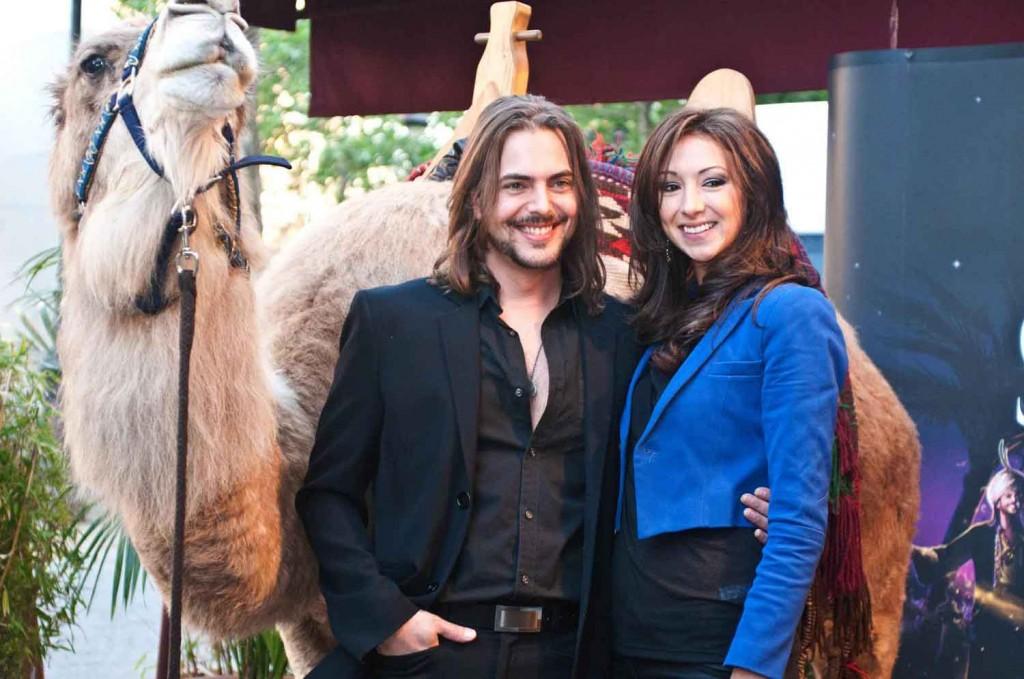Philippe Berghella & Rita Tabbakh, héros des Mille et une nuits