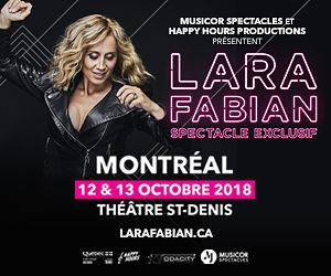 Lara Fabian : Spectacle exclusif