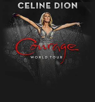 Céline Dion – Courage Wold Tour