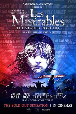 Les Misérables -The Staged Concert