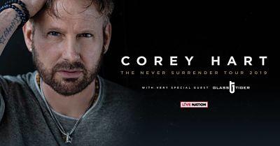 Corey Hart : Never Surrender tour 2019
